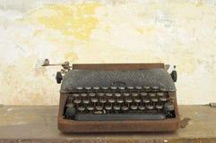 παλαιό γράψιμο τύπων μηχανών Στοκ Εικόνα