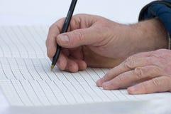 παλαιό γράψιμο χεριών Στοκ φωτογραφίες με δικαίωμα ελεύθερης χρήσης