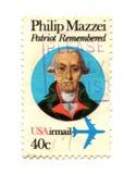 παλαιό γραμματόσημο ΗΠΑ 40 σ&ep Στοκ φωτογραφίες με δικαίωμα ελεύθερης χρήσης
