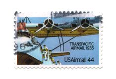 παλαιό γραμματόσημο ΗΠΑ 44 σ&ep Στοκ φωτογραφίες με δικαίωμα ελεύθερης χρήσης