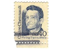 παλαιό γραμματόσημο ΗΠΑ Στοκ εικόνα με δικαίωμα ελεύθερης χρήσης
