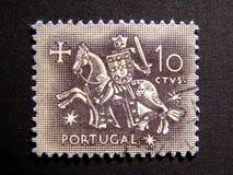 παλαιό γραμματόσημο ιπποτών templar Στοκ Εικόνες