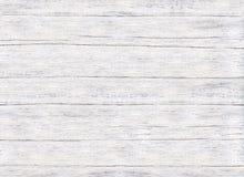 Παλαιό γρατσουνισμένο άσπρο χρωματισμένο υπόβαθρο πινάκων Στοκ Εικόνες