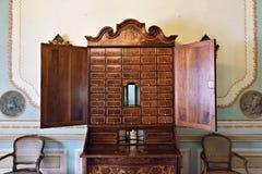 παλαιό γραφείο ξύλινο στοκ εικόνα