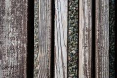 παλαιό δάσος ανασκόπησης Καφετί ξύλινο υπόβαθρο σύστασης τοίχων σανίδων Στοκ Εικόνες