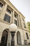 Παλαιό δικαστήριο στοκ εικόνες
