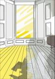 παλαιό δωμάτιο 05 ανασκόπησης Στοκ φωτογραφία με δικαίωμα ελεύθερης χρήσης