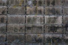 Παλαιό εγκαταλειμμένο βρώμικο υπόβαθρο τοίχων Στοκ Φωτογραφίες
