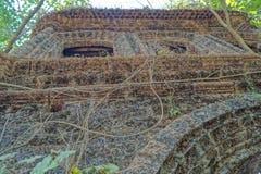 Παλαιό εγκαταλειμμένο οχυρό σε Goa, Ινδία Στοκ εικόνα με δικαίωμα ελεύθερης χρήσης