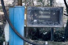 Παλαιό εγκαταλειμμένο πρατήριο καυσίμων Στοκ φωτογραφία με δικαίωμα ελεύθερης χρήσης