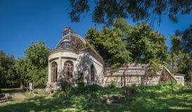 Παλαιό εγκαταλειμμένο σανατόριο στοκ φωτογραφία με δικαίωμα ελεύθερης χρήσης