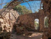 Παλαιό εγκαταλειμμένο σανατόριο στοκ εικόνες
