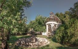 Παλαιό εγκαταλειμμένο σανατόριο στοκ εικόνα