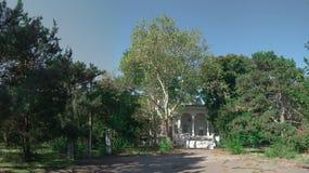 Παλαιό εγκαταλειμμένο σανατόριο στοκ φωτογραφία