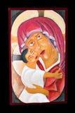 παλαιό εικονίδιο θρησκευτικό Στοκ εικόνα με δικαίωμα ελεύθερης χρήσης