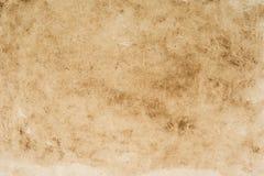 Παλαιό, εκλεκτής ποιότητας βρώμικο έγγραφο με τη λεκιασμένη σύσταση για τα υπόβαθρα Στοκ Εικόνα