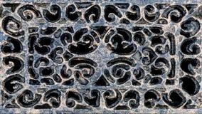Παλαιό, εκλεκτής ποιότητας υπόβαθρο μετάλλων από το δικτυωτό επεξεργασμένο σίδηρο Στοκ Εικόνα