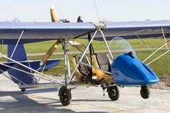 παλαιό ελαφρύ αεροπλάνο &ep Στοκ φωτογραφία με δικαίωμα ελεύθερης χρήσης