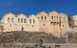 Παλαιό ελληνικό σπίτι σε Guzelyurt, Aksaray. Στοκ εικόνα με δικαίωμα ελεύθερης χρήσης