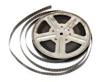 παλαιό εξέλικτρο κινηματογράφων μετάλλων ταινιών Στοκ Εικόνα