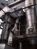 παλαιό εξωτερικό εργοστασίων στοκ φωτογραφίες