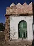 Παλαιό ζωηρόχρωμο σπίτι στην Αφρική Στοκ φωτογραφία με δικαίωμα ελεύθερης χρήσης