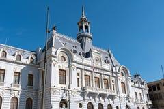 Παλαιό ιστορικό κτήριο σε Valparaiso Στοκ φωτογραφία με δικαίωμα ελεύθερης χρήσης