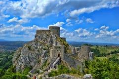 Παλαιό κάστρο σε ισχύ Srebrenik Στοκ φωτογραφία με δικαίωμα ελεύθερης χρήσης