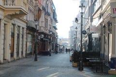 Παλαιό κέντρο στο μέρος 2 του Βουκουρεστι'ου στοκ φωτογραφία με δικαίωμα ελεύθερης χρήσης