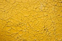 Παλαιό κίτρινο χρώμα σύστασης Στοκ φωτογραφία με δικαίωμα ελεύθερης χρήσης
