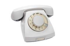 παλαιό καθορισμένο τηλέφωνο Στοκ εικόνα με δικαίωμα ελεύθερης χρήσης