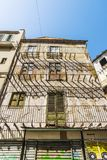 Παλαιό και εγκαταλειμμένο κτήριο στο Παλέρμο, Σικελία, Ιταλία Στοκ Εικόνες