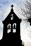 παλαιό καμπαναριό εκκλησιών στοκ εικόνες