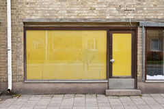 παλαιό κατάστημα πορτών Στοκ εικόνες με δικαίωμα ελεύθερης χρήσης