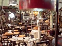 Παλαιό κατάστημα στην Ινδονησία Στοκ Φωτογραφία