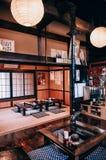Παλαιό κατάστημα Soba σπιτιών Edo της μετα πόλης narai-Juku Narai στο raini στοκ φωτογραφία με δικαίωμα ελεύθερης χρήσης