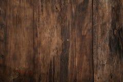 Παλαιό καφετί αγροτικό ξύλινο υπόβαθρο Στοκ Εικόνα