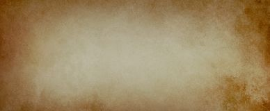 Παλαιό καφετί υπόβαθρο σε μια στενοχωρημένη απεικόνιση σύστασης εγγρ στοκ εικόνες