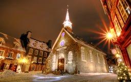 Παλαιό Κεμπέκ Στοκ Εικόνες