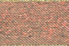 παλαιό κεραμίδι στεγών Στοκ Φωτογραφία