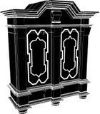 παλαιό κομμό ντουλαπιών 01 Στοκ φωτογραφία με δικαίωμα ελεύθερης χρήσης
