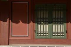 Παλαιό κορεατικό σπίτι Στοκ Φωτογραφία