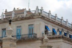 Παλαιό κουβανικό κτήριο Στοκ φωτογραφία με δικαίωμα ελεύθερης χρήσης