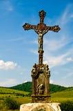 παλαιό κράσπεδο λιβαδιών Χριστού διαγώνιο Ιησούς στοκ φωτογραφία