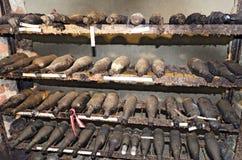 παλαιό κρασί μπουκαλιών Στοκ φωτογραφίες με δικαίωμα ελεύθερης χρήσης