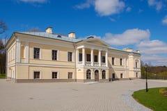 Παλαιό κτήμα Balinski σε Jasiunai, κοντά σε Vilnius, Λιθουανία Από το 1824 στοκ φωτογραφία