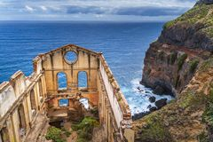 Παλαιό κτήριο αντλιών αποκαλούμενο Casa del agua Tenerife στοκ φωτογραφίες
