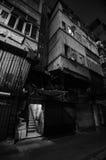 Παλαιό κτήριο στη φτωχή περιοχή Στοκ Εικόνες