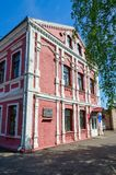Παλαιό κτήριο στο ιστορικό κέντρο της πόλης, Polotsk, Λευκορωσία Στοκ Φωτογραφία
