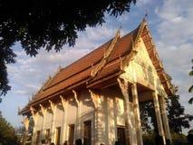 Παλαιό κτήριο στο ναό βουδισμού στοκ εικόνα με δικαίωμα ελεύθερης χρήσης
